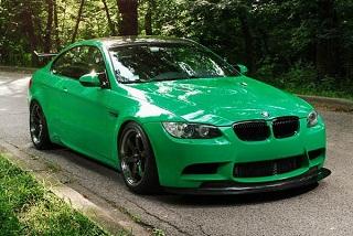 BMW M3 Green Hell: ещё больше креатива!
